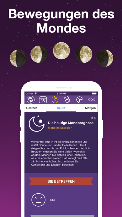 messages.download Täglich Horoskope - Astrologie software