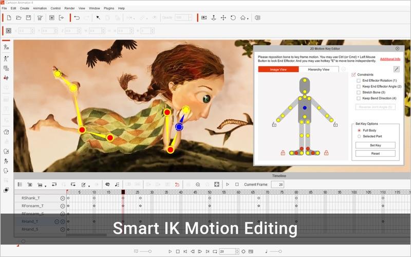 Скриншот №3 к Cartoon Animator 4 Pro для Mac