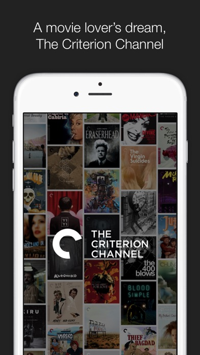 The Criterion Channel Screenshot