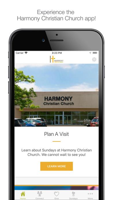 Harmony Christian Church screenshot one