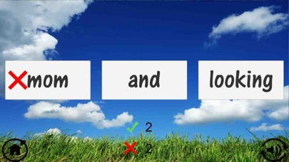Screenshot for Kindergarten Sight Word Quiz in Indonesia App Store