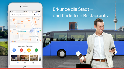 Screenshot for Google Maps - Transit & Essen in Germany App Store