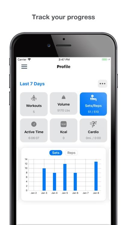 Gym Logger: Track Workouts screenshot-4