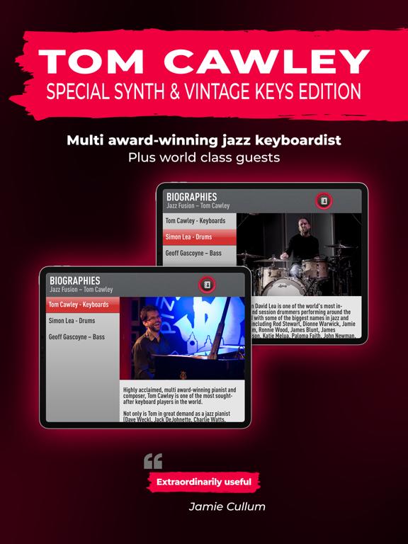 SessionBand Jazz Fusion screenshot 11