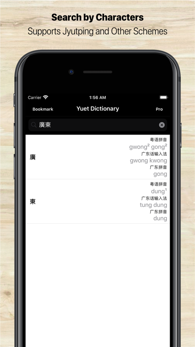 Cantonese Dictionary screenshot one