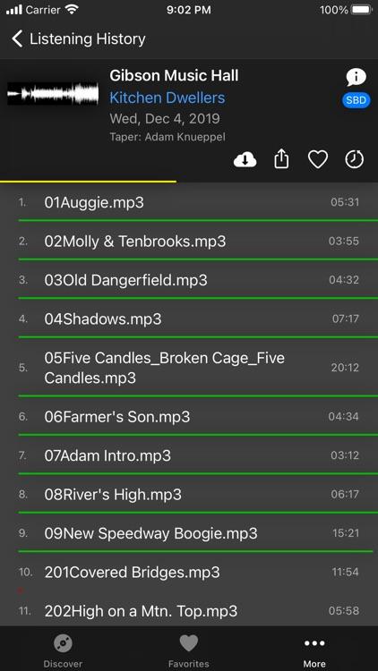 Live Music Archive screenshot-6