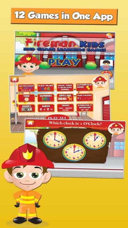 Fireman Grade 2 Kids Games screenshot-0