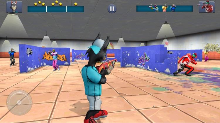 Paintball Shooting Games 3D screenshot-6