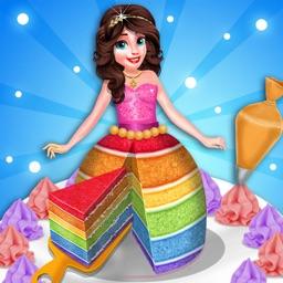 Rainbow Doll Cake Maker