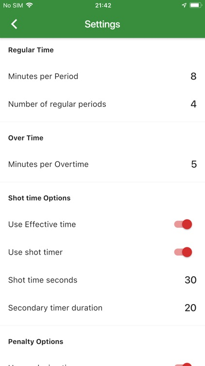Scoreboard Waterpolo screenshot-3
