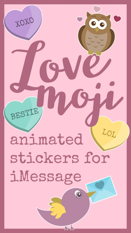 LoveMoji Animated Stickers