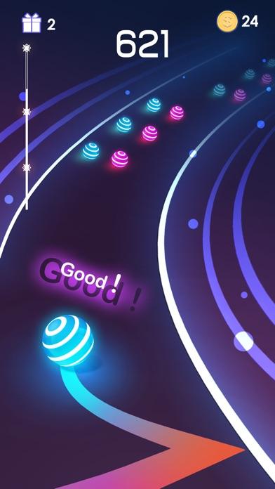 Dancing Road: Color Ball Run! screenshot 2