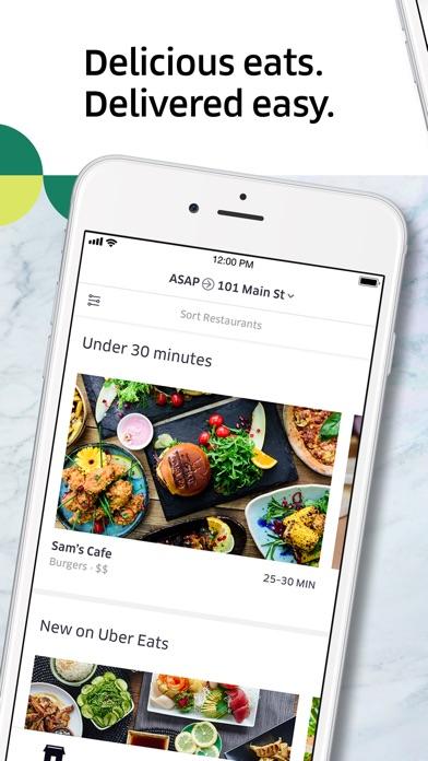 Uber Eats: Food Delivery app image