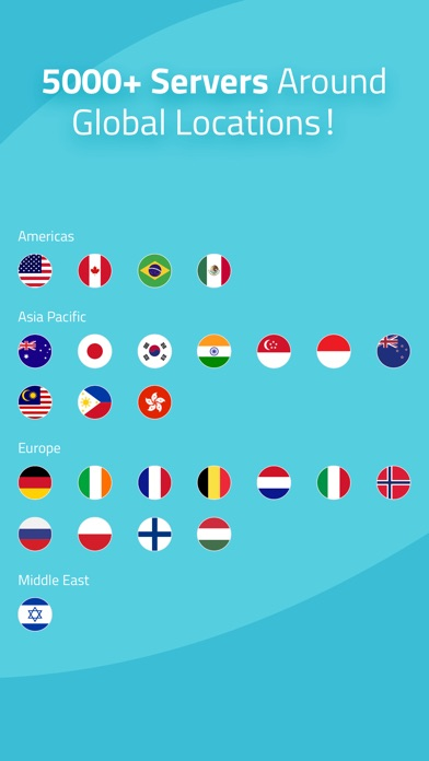 Screenshot for X-VPN Unlimited VPN Proxy in New Zealand App Store