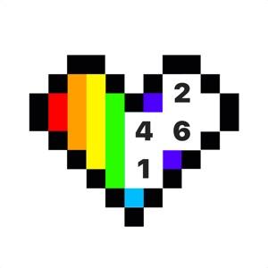 Pixel 2D – color by number download