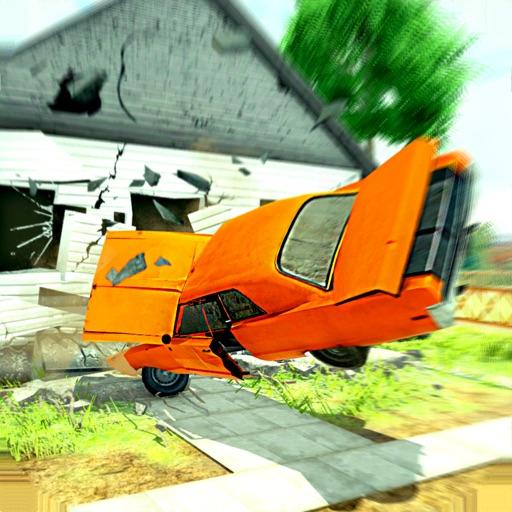 Building Smasher 3D: Car Drive