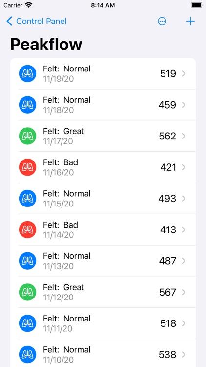 Track My Asthma screenshot-8