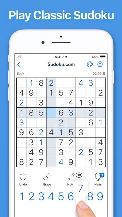 Sudoku.com - Sudoku Puzzle screenshot-0