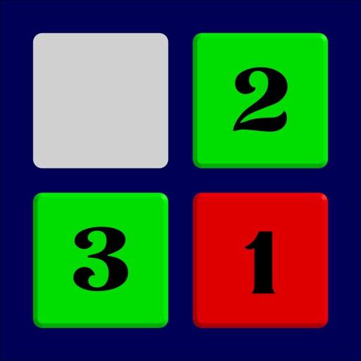 Sort It 单机智力小游戏, 数字滑块, 经典手机小游戏