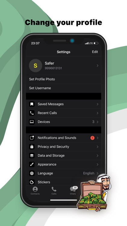 Tawasal Messenger screenshot-6