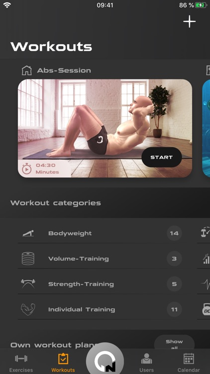 Gymnotize Fitness Workout App screenshot-2