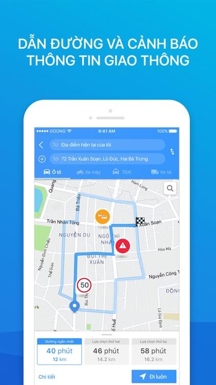 Goong - Maps & Navigation screenshot-4