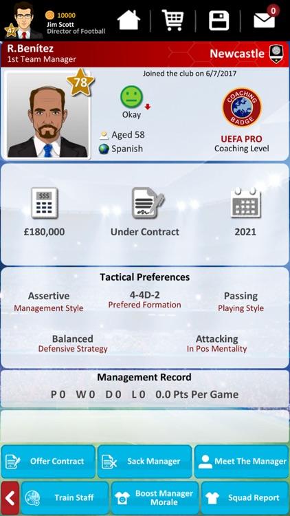 Club Soccer Director 2019 screenshot-3