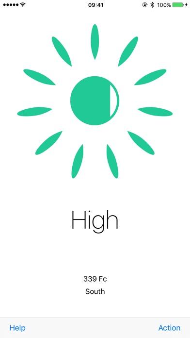 Screenshot for Plant Light Meter in Denmark App Store