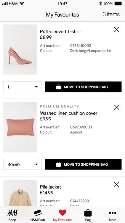H&M App screenshot-3