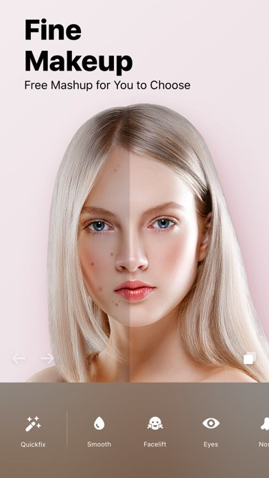 Facey: Face Editor &Makeup Cam Screenshot