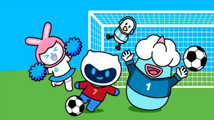超能宝贝足球