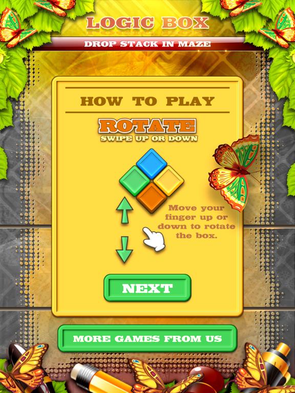 Logic Box - Drop Stack In Maze screenshot 11