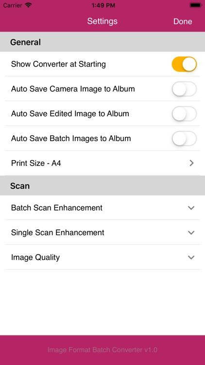 Image Format Batch Converter screenshot-4