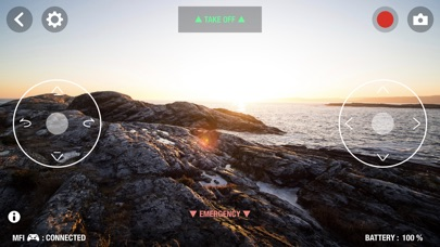 Drone Controller for Bebop screenshot 2