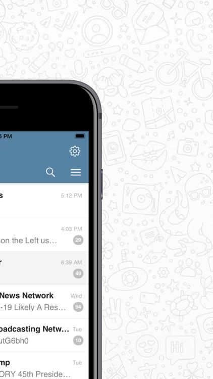 Messenger for WhatsApp & More screenshot-4