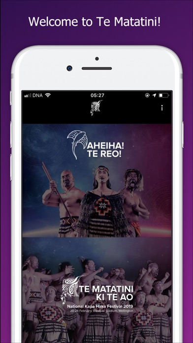 Screenshot for Te Matatini in New Zealand App Store