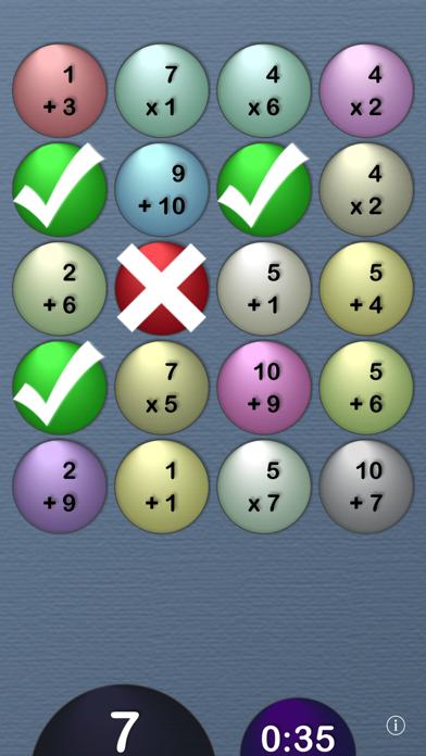 MathTables by PalaSoftwareのおすすめ画像1