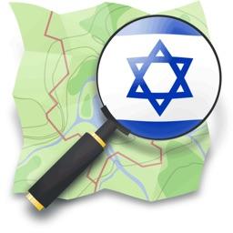 Israel Hiking Map