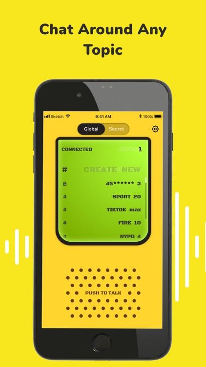 Walkie Talkie: Talk to Friends screenshot-6