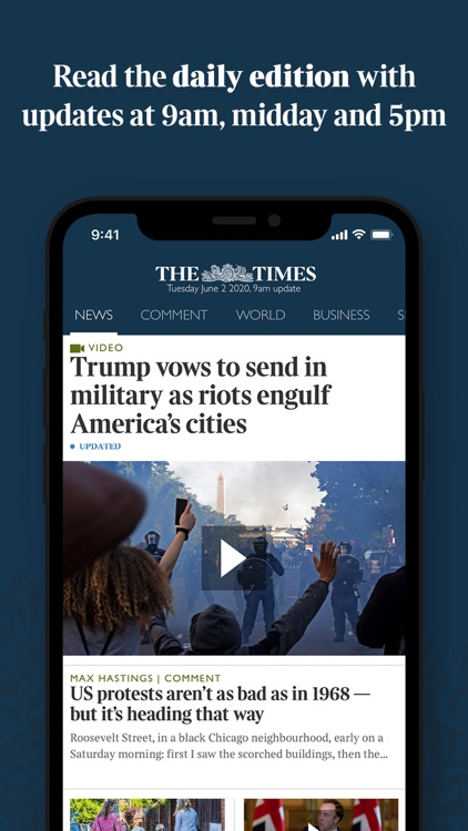 The Times & The Sunday Times screenshot-0