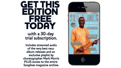 Songlines Magazine review screenshots