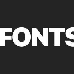 Fonts for iPhone & Keyboard