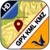 GPX KML KMZ Viewer Converter - iPhoneアプリ
