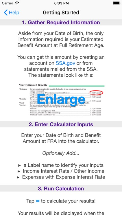 Social Security Calculator screenshot-8