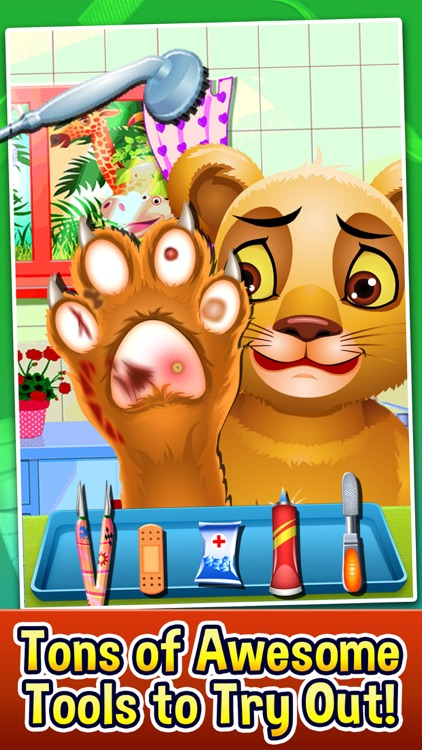 Pet Foot Doctor Salon Spa Game