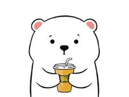 Lovely Polar Bear Animated Emoji Stickers provide 16 lovely funny gif  emoji stickers for iMessage users
