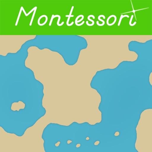 Montessori Land & Water Forms
