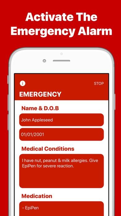 MedicalMe - Medical ID & Alarm Screenshots