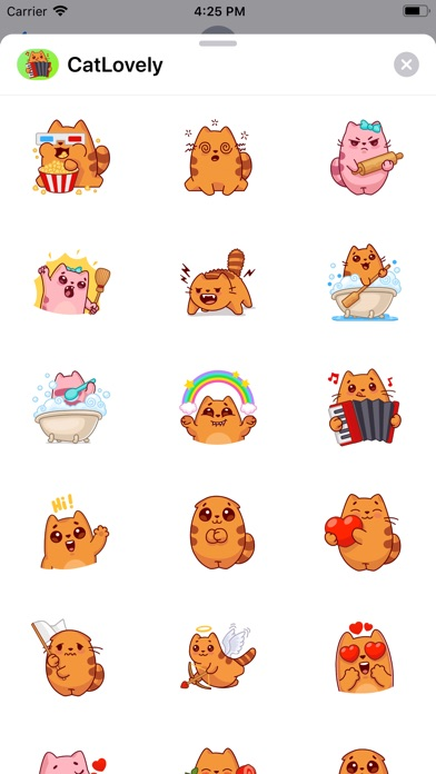 Screenshot for Cat Lovely Sticker in Colombia App Store