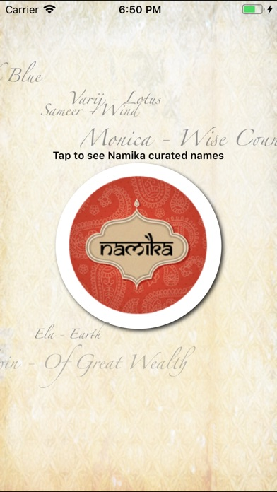 Screenshot for Namika in United States App Store